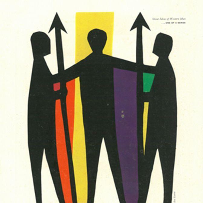 コンティナー・コーポレーション・オブ・アメリカ広告 1954年